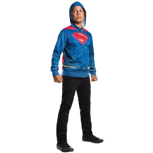 Rubie's Justice League Movie Superman Costume Hoodie Child - image 1 of 1