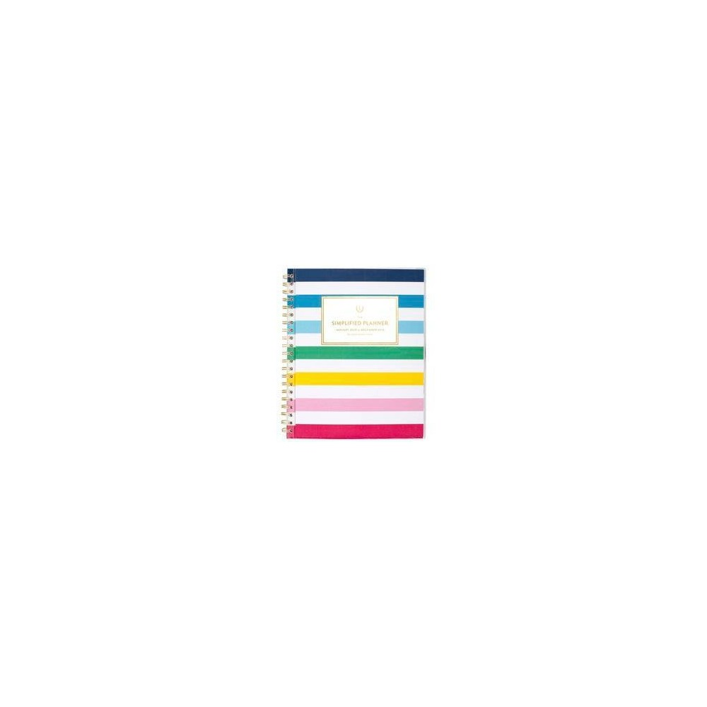 "Image of ""2020 Planner 11.125""""x 9.375"""" Happy Stripe - Emily Ley"""