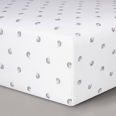 Fitted Crib Sheet Hedgehogs - Cloud Island™