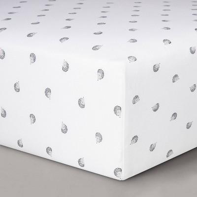 Fitted Crib Sheet Hedgehogs - Cloud Island™