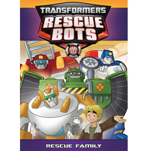 Transformers Rescue Bots:Rescue Famil (DVD) - image 1 of 1