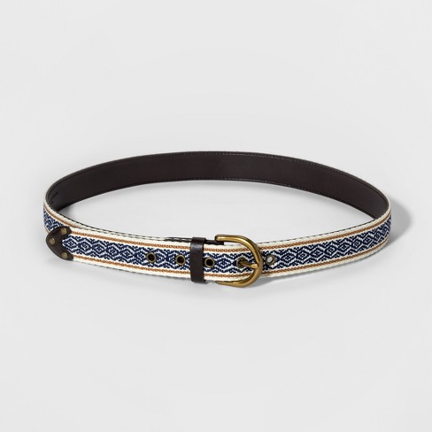 Women's Festival Belt - Universal Thread™ Blue - image 1 of 2