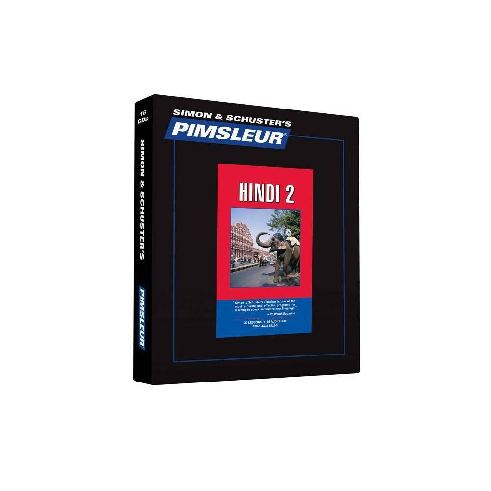 Pimsleur Hindi Level 2 CD - (Comprehensive)(AudioCD)