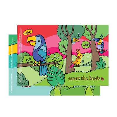 Munchkin Story Mat BPA Free Disposable Placemats For Kids - 18ct