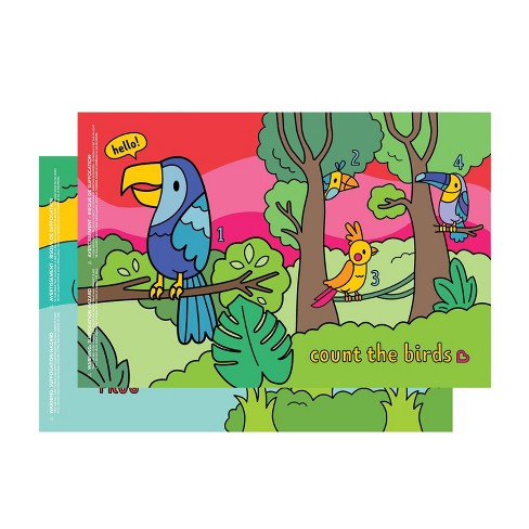 Munchkin Story Mat BPA Free Disposable Placemats For Kids' - 18ct - image 1 of 4