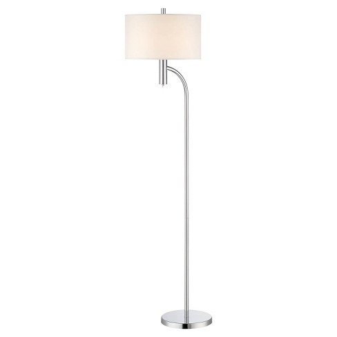 Lite Source Chantay 1-LT Floor Lamp - Polished Steel (Lamp Includes Energy Efficient Light Bulb) - image 1 of 1