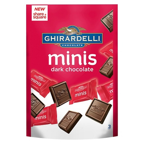 Ghirardelli Minis Dark Chocolate Squares - 4.4oz - image 1 of 1