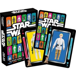 NMR Distribution Star Wars Vintage Kenner Action Figures Playing Cards
