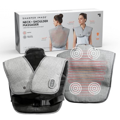 Sharper Image Wrap Neck Heated Pain Relief Massager