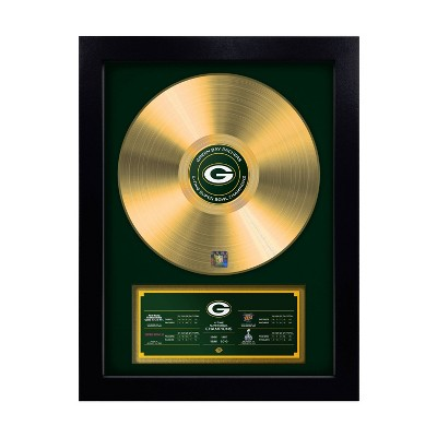 NFL Green Bay Packers Commemorative Championship Edition Gold