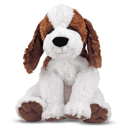 Melissa Doug Bailey St Bernard Stuffed Animal Puppy Dog 10 5