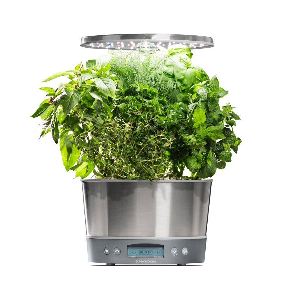 Aerogarden Harvest Elite 360 with Gourmet Herbs 6-Pod See...