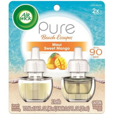 Air Fresheners: Air Wick Pure Beach Escapes Scented Oil