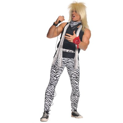 Adult 80's Rocker Halloween Costume XXL