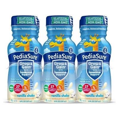 PediaSure Grow & Gain Kids' Nutritional Shake Vanilla - 6 ct/48 fl oz