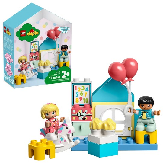 LEGO DUPLO Town Playroom 10925 Fun Developmental Toy for Toddlers image number null