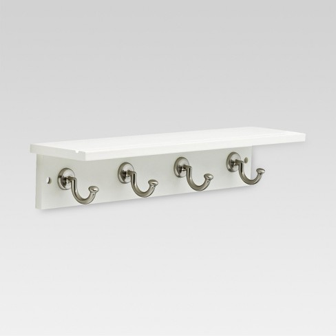 18 Hennepin Hook Rack With Ledge