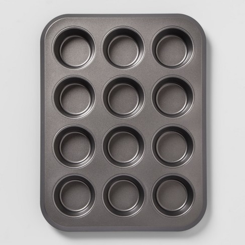 Non-Stick Muffin Tin Carbon Steel - Made By Design™ - image 1 of 4