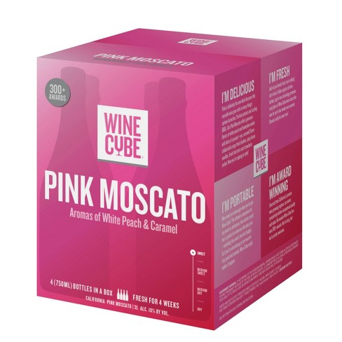 Pink Moscato Rose Wine - 3L Box - Wine Cube™ - image 1 of 4