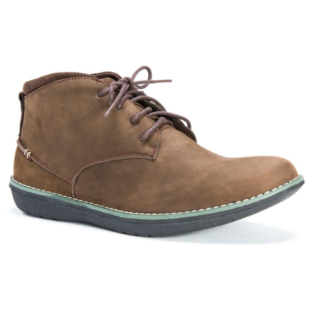 Men's Muk Luks Charlie Chukka Boots - Coffee 10, Brown