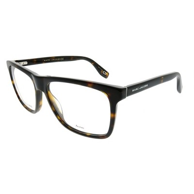 Marc Jacobs  086 Unisex Rectangle Eyeglasses Dark Havana 55mm