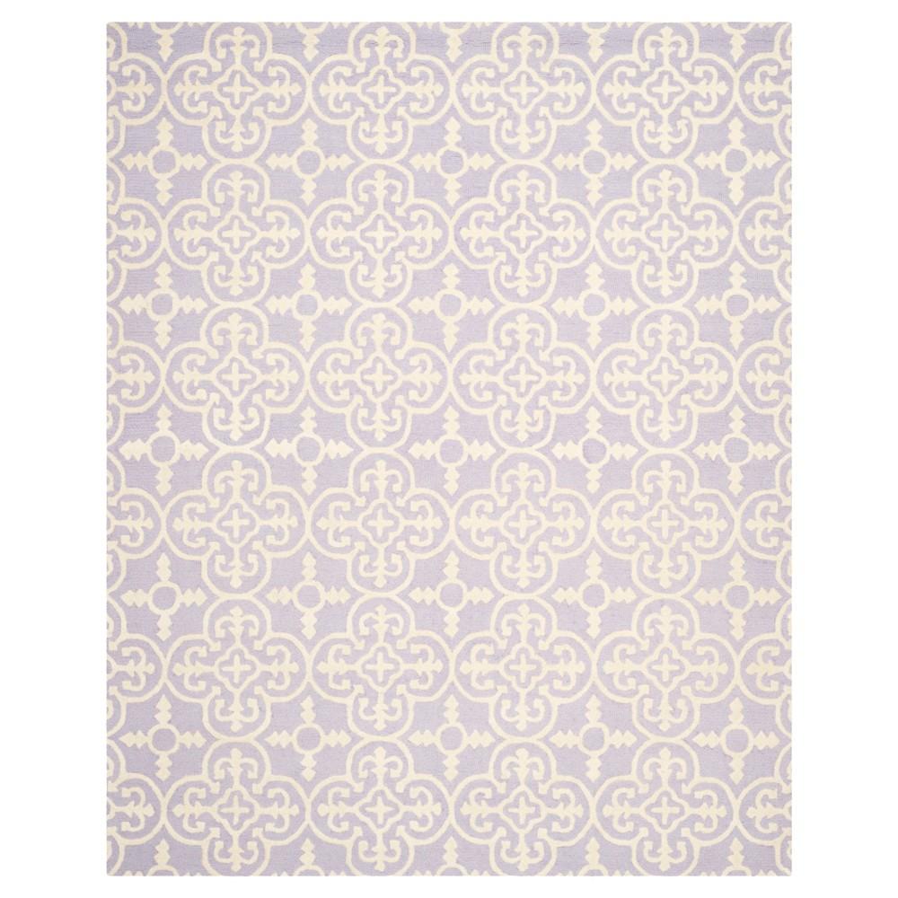 6'X9' Geometric Area Rug Lavender/Ivory (Purple/Ivory) - Safavieh