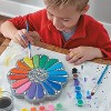 MindWare Paint Your Own Stepping Stone: Flower - Creative Activities -14 Pieces - image 3 of 4