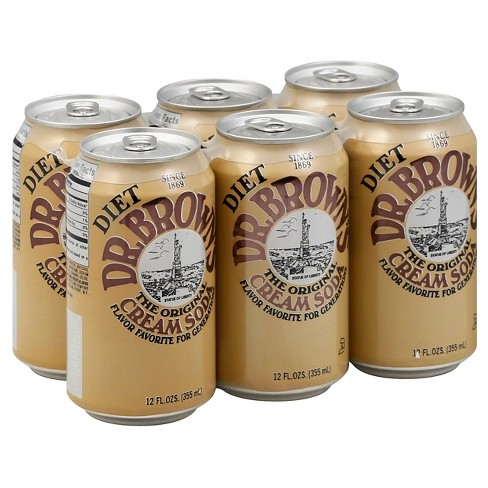 Dr. Browns® Diet Cream Soda 6 pk - image 1 of 2