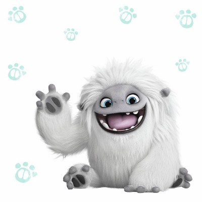 DreamWorks Abominable Peel and Stick Giant Wall Decals - RoomMates