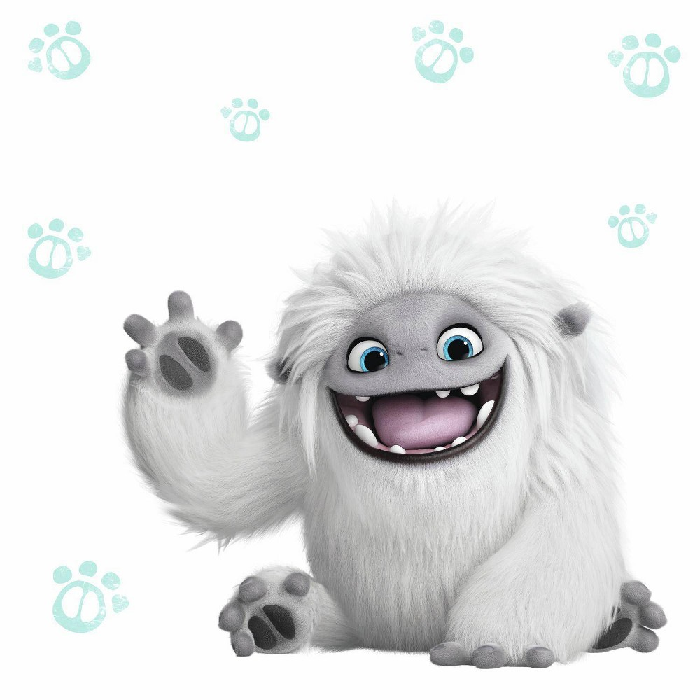 Image of DreamWorks Abominable Peel and Stick Giant Wall Decals - RoomMates