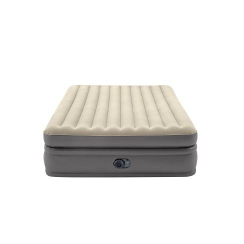"Intex Raised Comfort Pillowtop 20"" Queen Air Mattress with 120V Internal Pump - image 1 of 3"
