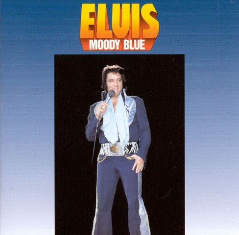 Elvis presley - Moody blue (CD) - image 1 of 1