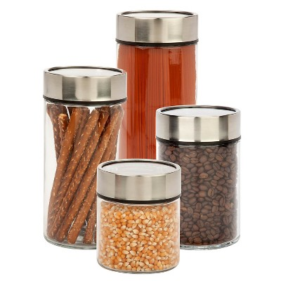 Honey-Can-Do Date Dial Jar Set 4-pc.