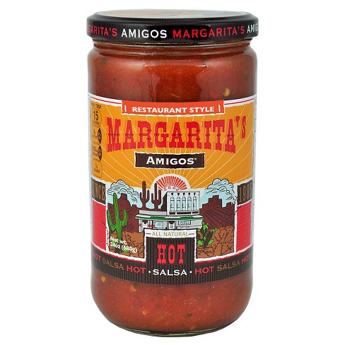 Margarita's Amigos® Hot Restaurant Style Salsa 24 oz - image 1 of 1