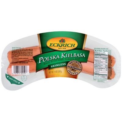 Eckrich Skinless Polska Kielbasa - 14oz