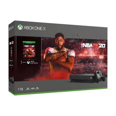 Xbox One X 1TB NBA 2K20 Bundle