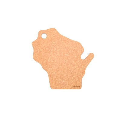 Epicurean State Shape Series Wisconsin Natural Cutting Board