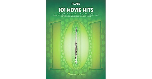 101 Movie Hits Flute (Paperback) - image 1 of 1