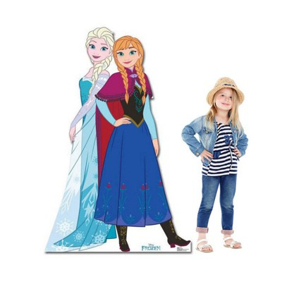 Birthday Express Frozen Party Anna and Elsa Stand Up
