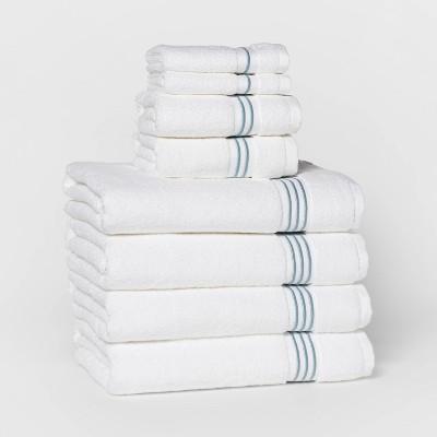 8pc Bath Towel Set - Threshold Signature™