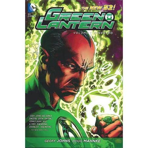Green Lantern Vol. 1: Sinestro (the New 52) - by  Geoff Johns (Paperback) - image 1 of 1