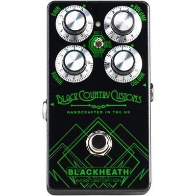 Laney BLACKHEATH Bass Distortion Effects Pedal Black