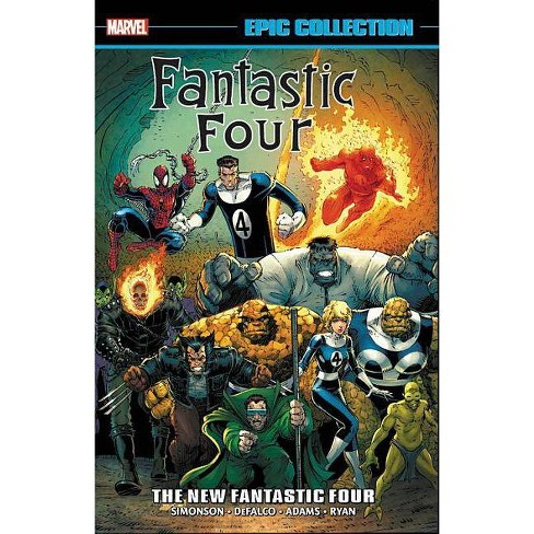 ce3f15f6640 Fantastic Four Epic Collection: The New Fantastic Four - (Paperback)