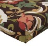 Outdoor Chair Cushion - Brown/Green Floral - image 4 of 4