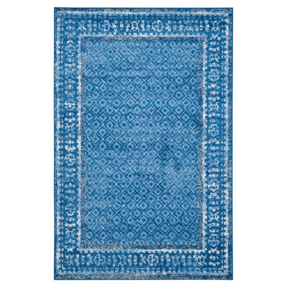 Remi Area Rug - Light Blue/Dark Blue (6'x9') - Safavieh