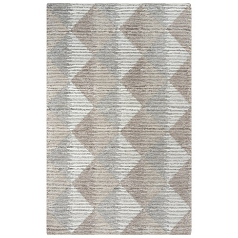 Addison Geometric Wool Area Rug - Rizzy Home - image 1 of 4