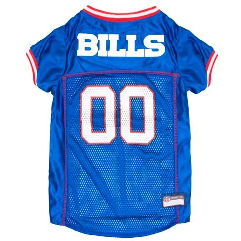 separation shoes cdc93 76573 Buffalo Bills Pets First Mesh Pet Football Jersey - Blue L