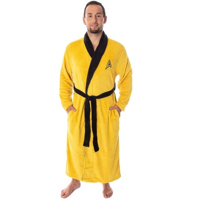 Star Trek The Original Series Adult Costume Fleece Plush Robe Bathrobe