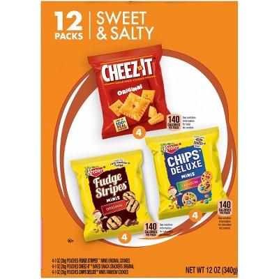 Keebler Cookies Sweet and Salty Variety Pack - 12ct
