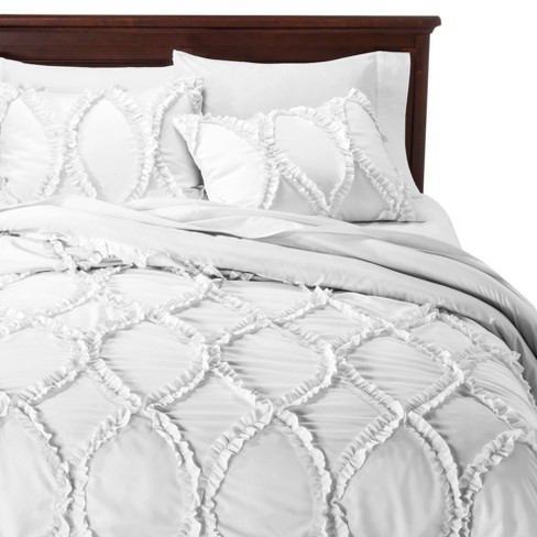 Avon Ogee Textured Comforter Set 3 Piece - Lush Decor® - image 1 of 2